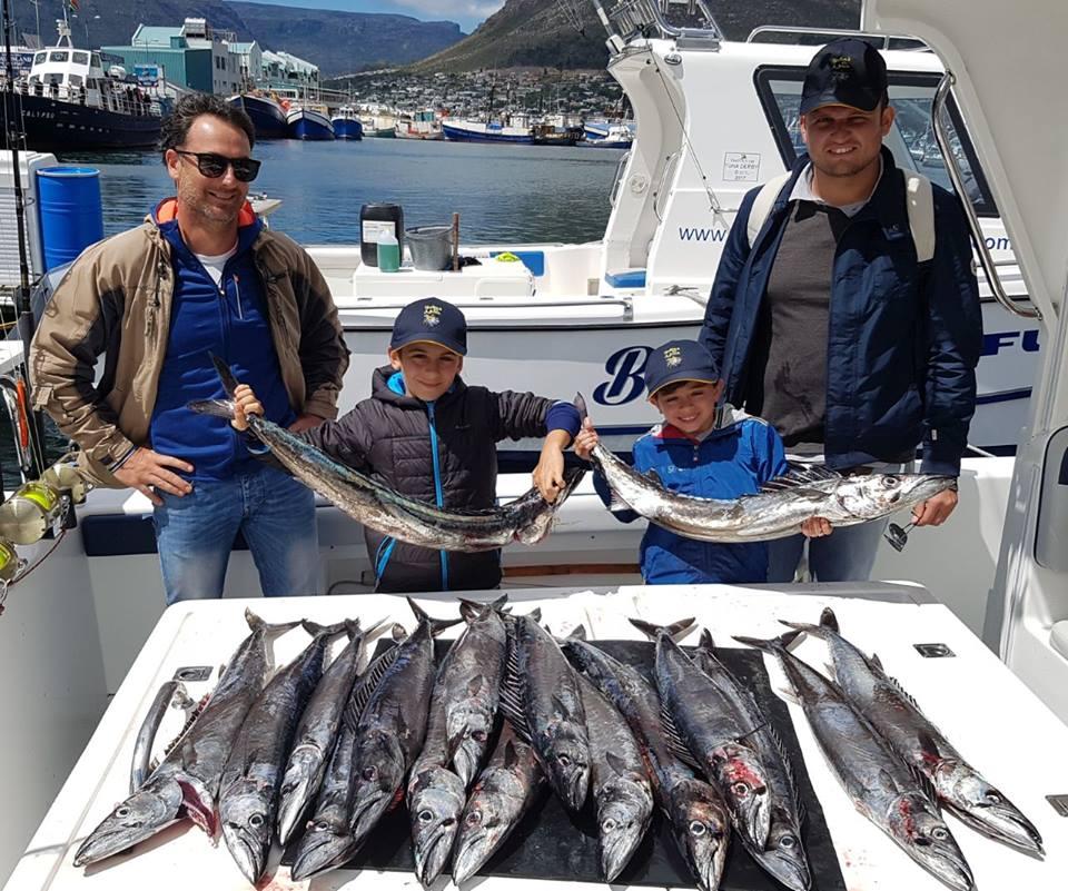 Snoek Fishing Cape Town Fishing Charters