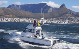 Media Boat Hire Boats for filmshoot Cape Town 1