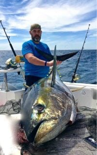 catch big fish deep-sea-fishing-charters-cape-town-hout-bay-fishing-tuna-fishing - Yellowfin Tuna 5