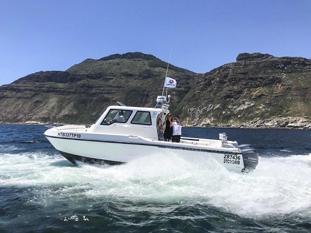deep sea fishing charters cape town hout bay fishing tuna fishing Tuna running