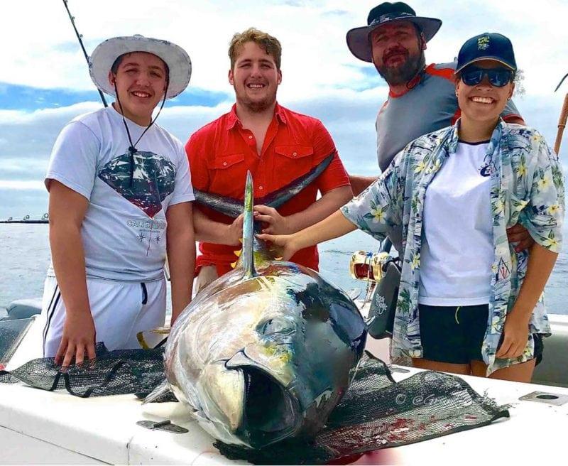 Yellowfin Tuna Fishing Season Cape Town Big Game Fishing Charters Hour Bay