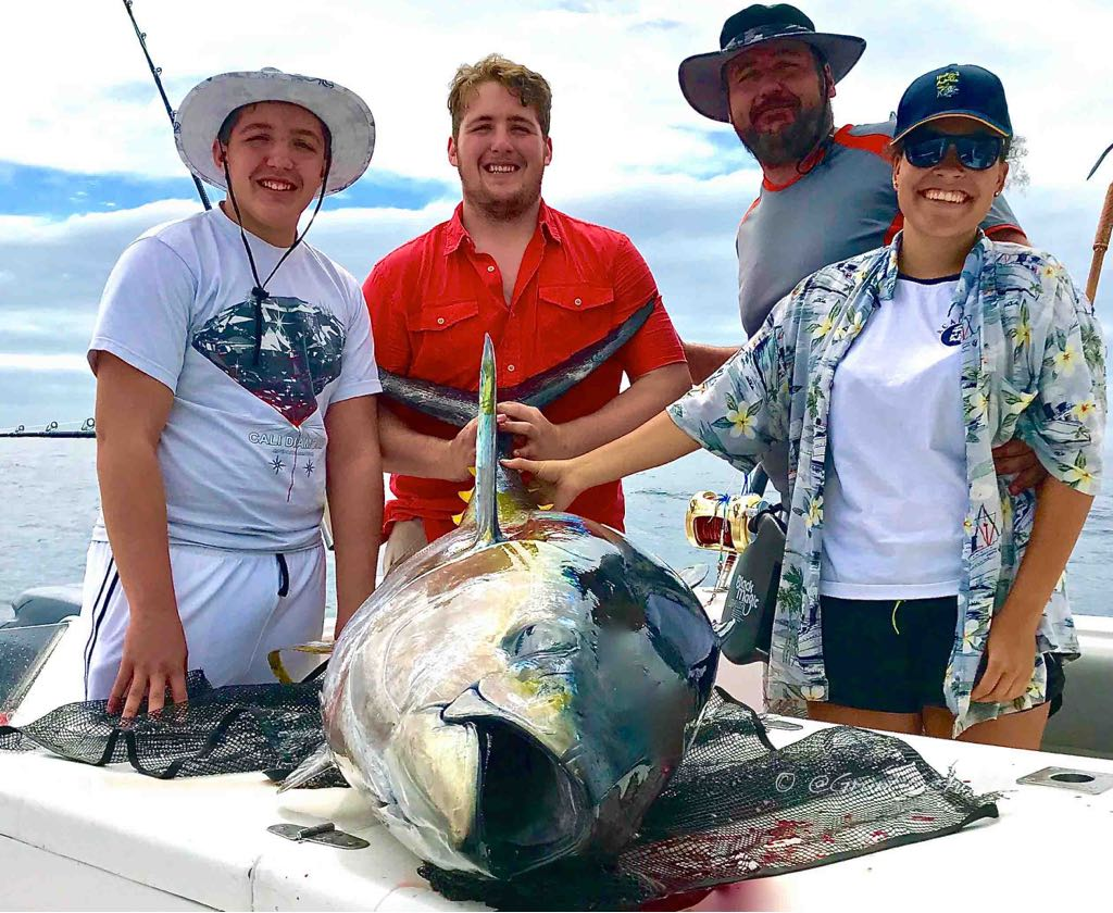 Yellowfin Tuna Fishing Season Cape Town Big Game Fishing Charters Hour Bay