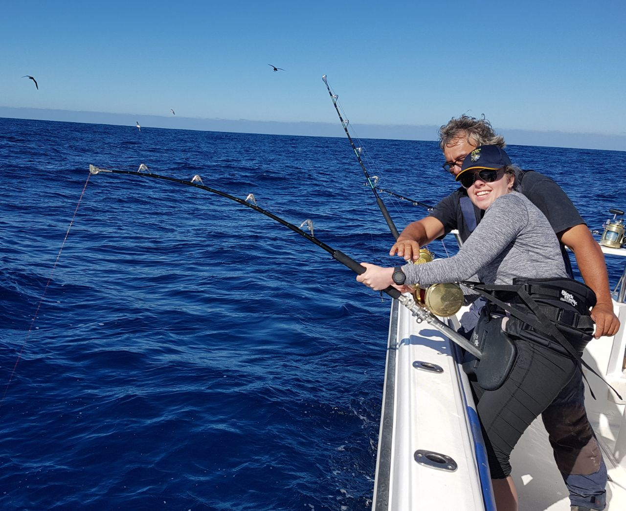 Deep sea fishing charters cape town recent decent tuna for Deep sea fishing trips