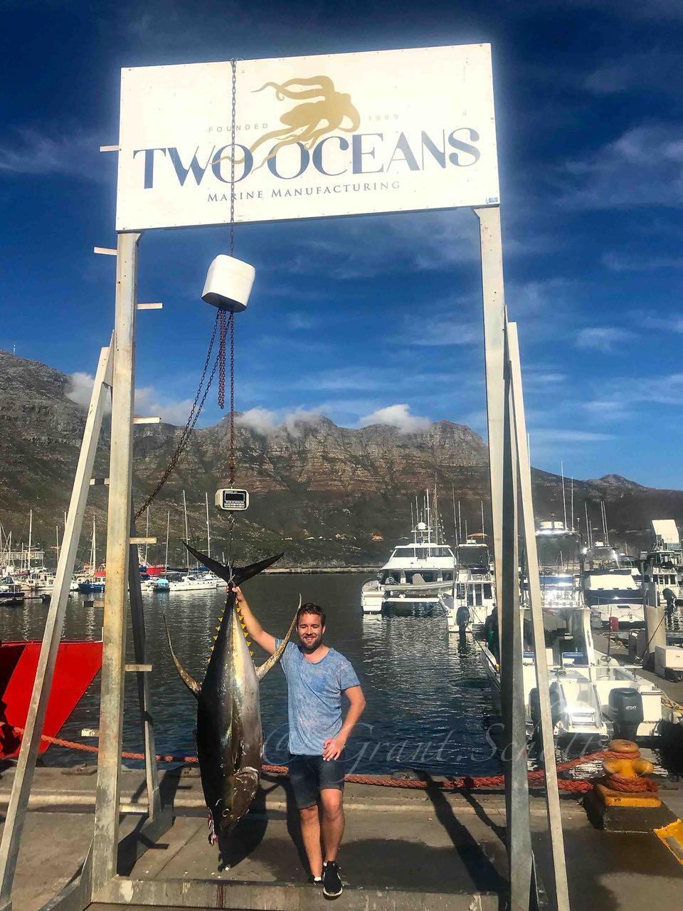 yellowfin tuna fishing cape town 2