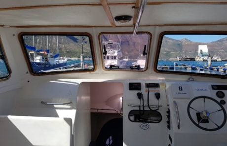 ocean warrior 35 foot cat fishing charter hout bay cape town 6