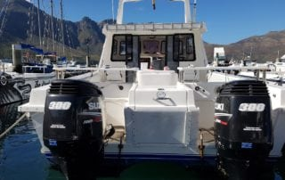 ocean warrior 35 foot cat fishing charter hout bay cape town 8