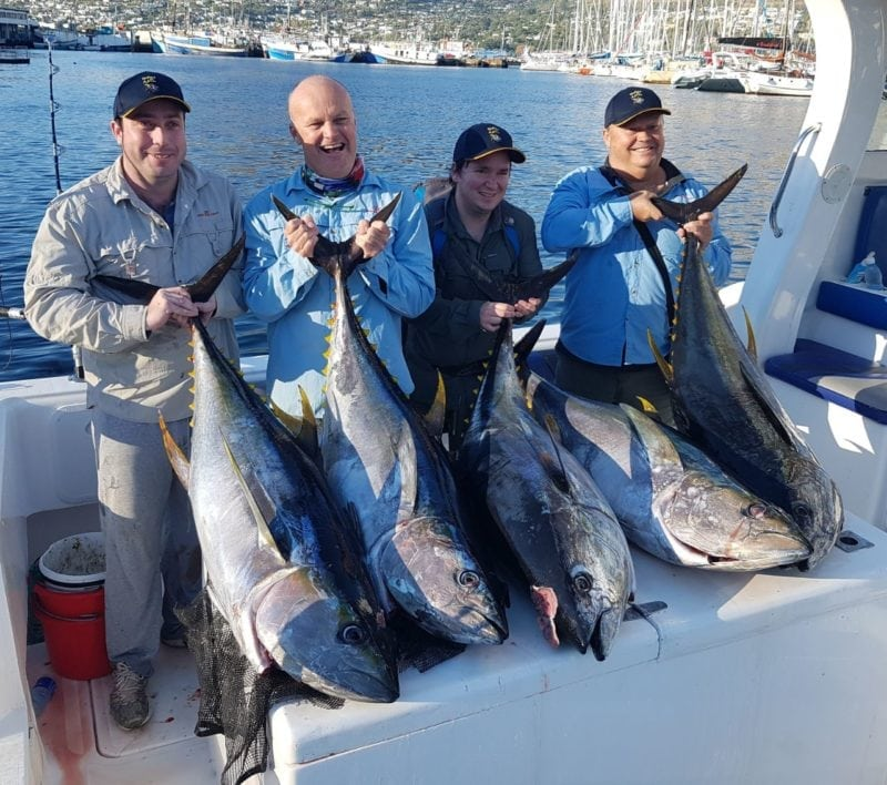 yellowfin tuna fishing charters deep sea fishing cape town 2