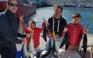 yellowtail and katonkel fishing hout bay cape town deep sea fishing 1c