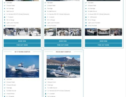 Choose From A Selection of Fishing Boats Available To Charter