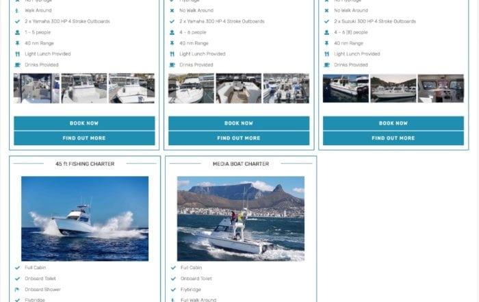 deep sea fishing charter boats cape town fishing boats 1