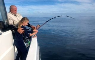 deep sea fishing - fishin on the line - yellowfin tuna fishing hout bay - cape town 1