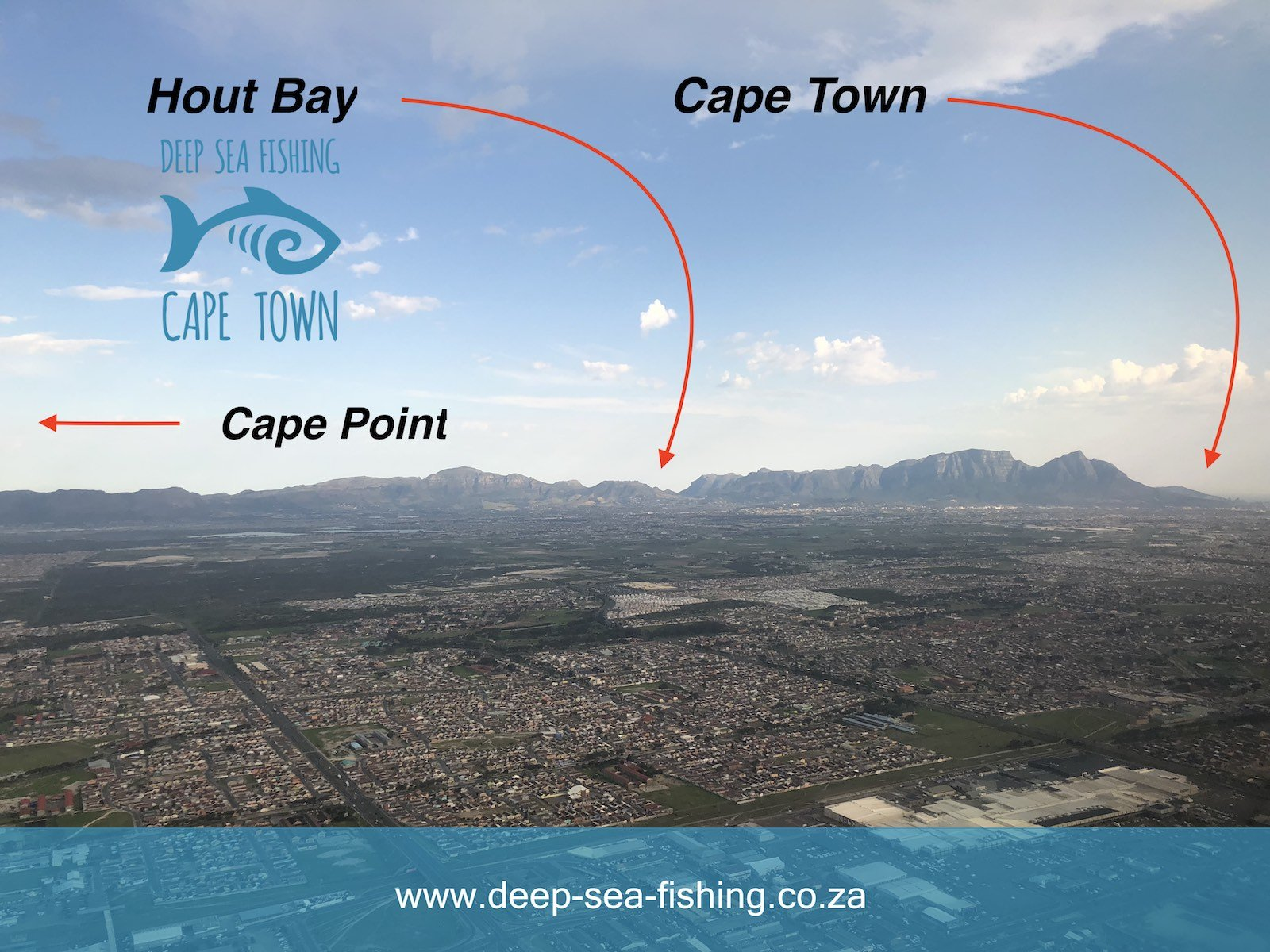 deep sea fishing cape town hout bay location small