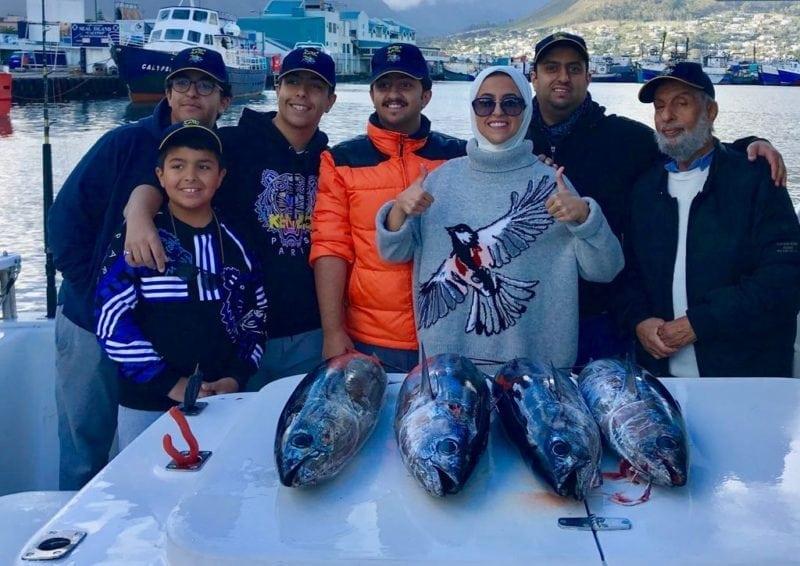 slender tuna - august 2018 - deep sea fishing charters cape town