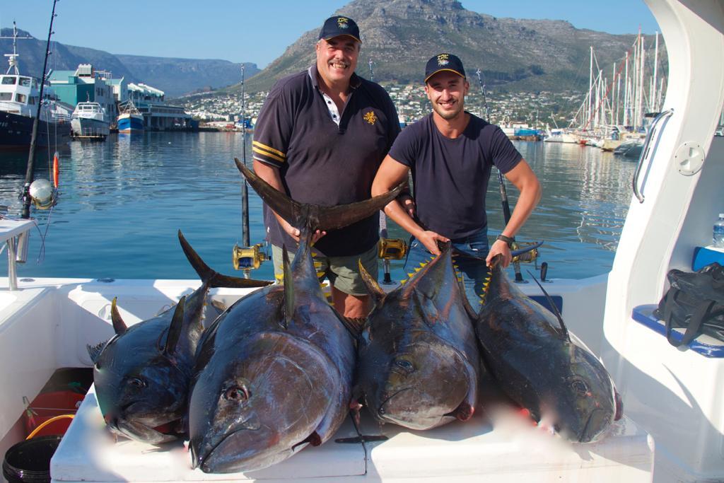 Deep Sea Fishing Yellowfin Tuna Fishing Season Hout Bay Cape Town Fishing Charter 1