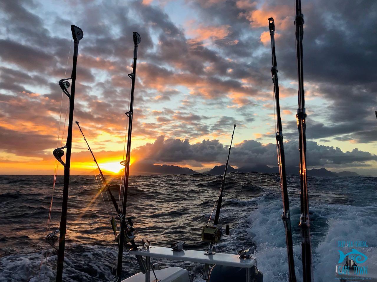 trolling fishing cape town deep sea fishing charters hout bay