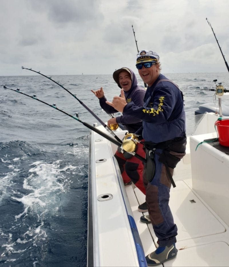 yellowfin tuna fishing deep sea fishing cape town grant & sean