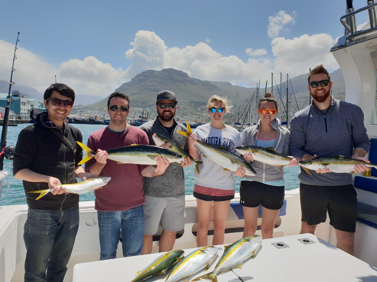 Yellowtail Fishing Charter Hout Bay Cape Town Fishing Charters