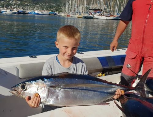 Youngster gets junior angler award for catching a 25,5kg longfin tuna