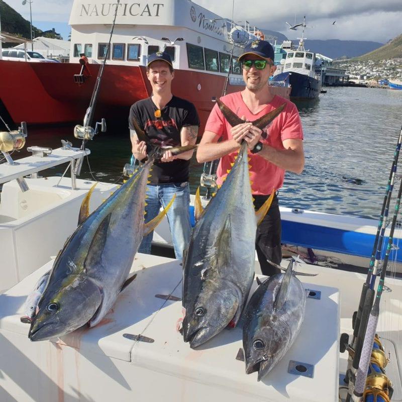 Yellowfin Tuna Fishing - deep-sea-fishing-charters-cape-town 1