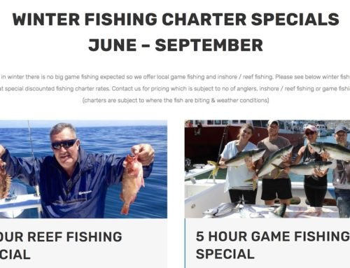 Winter Fishing Specials – Inshore, Reef, Game
