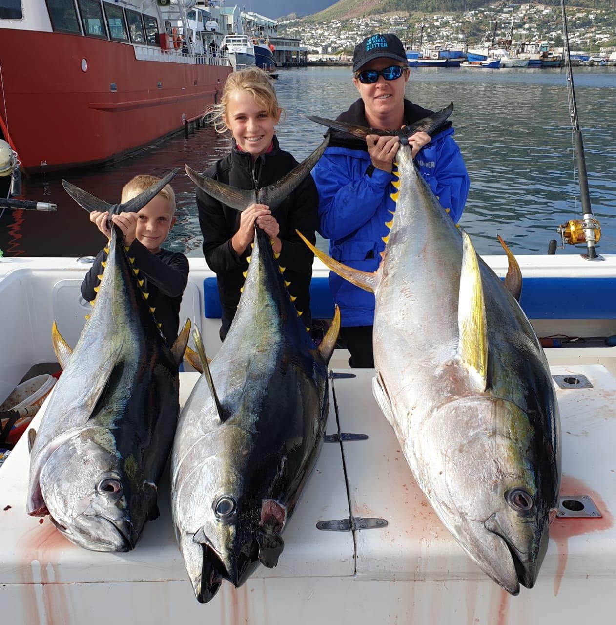 yellowfin tuna fishing charters cape town 2