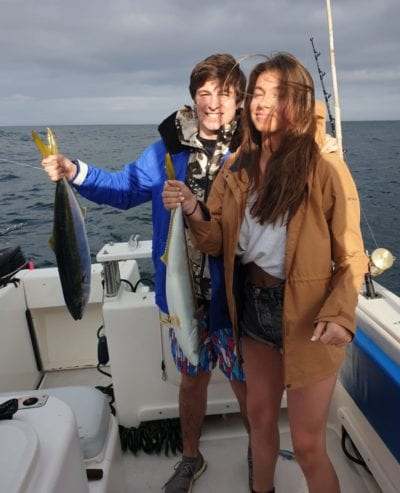 yellowtail fishing at cape point cape town 1