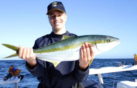 deep sea fishing cape town - hout bay - yellowtail fishing 3