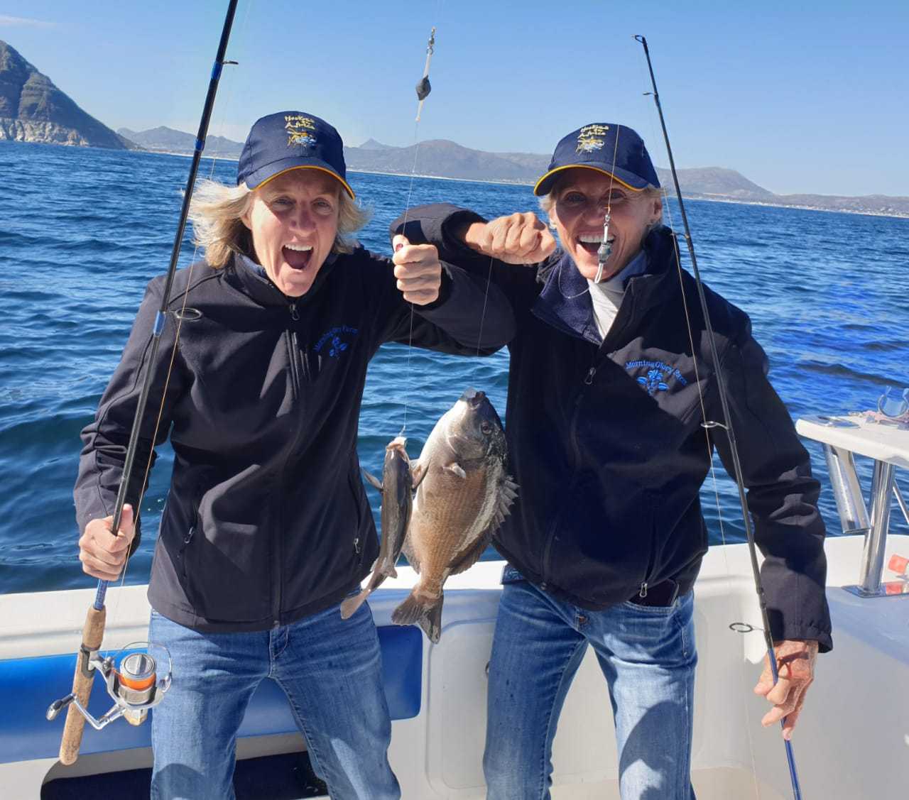 hottentot seabream fishing hout bay - cape town inshore fishing reef fishing