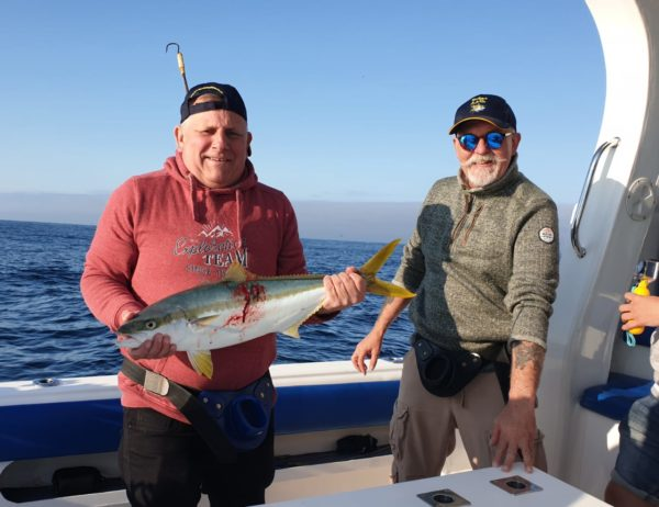 yellowtail fishing cape point cape town south africa 1