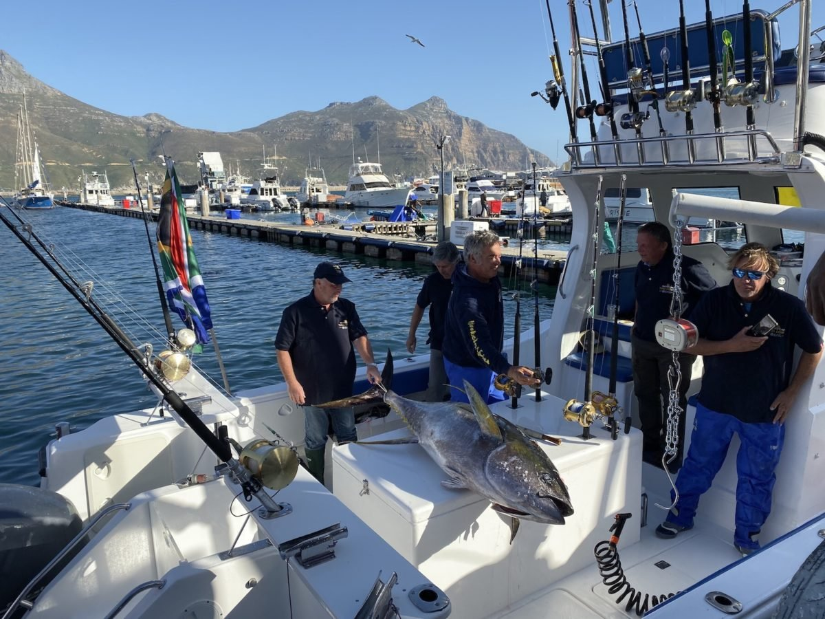 hooked on africa fishing tuna derby 2019