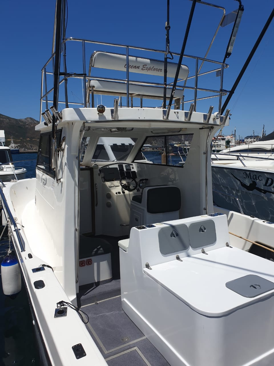 30 foot deep sea fishing cape town charter boat