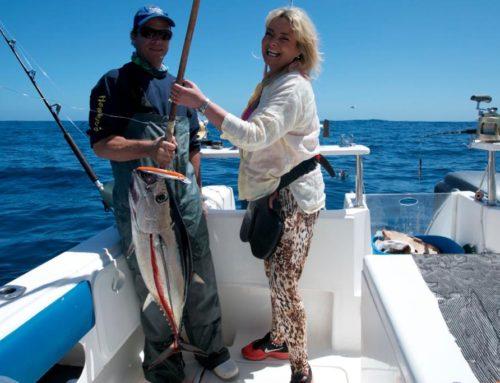 Longfin Tuna Fishing in October