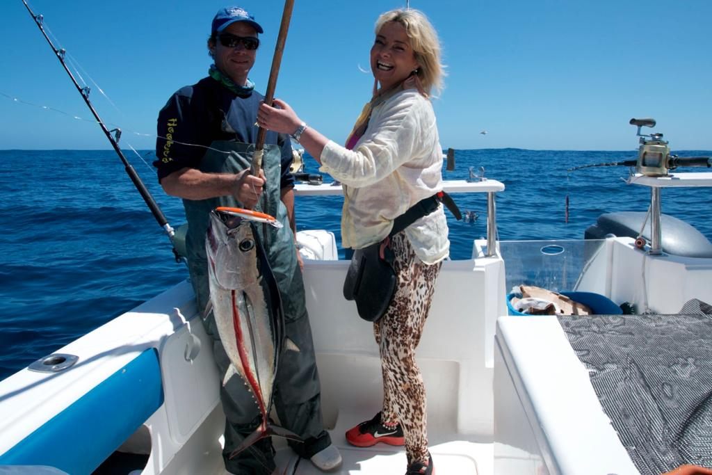 longfin tuna fishing cape town - hooked on africa