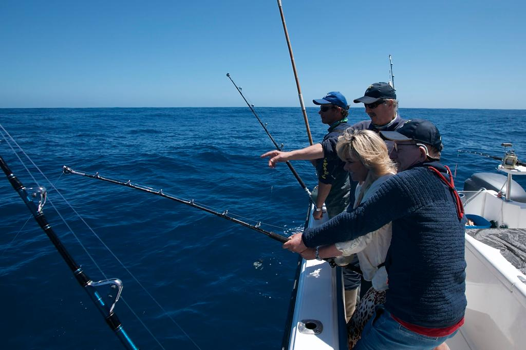 longfin tuna fishing cape town - hooked on africa 1
