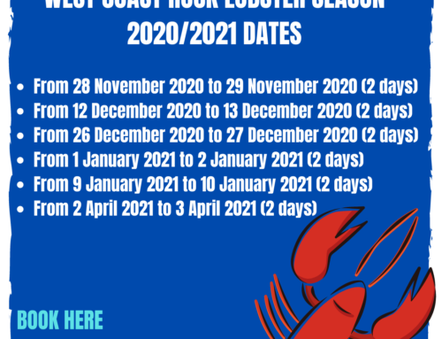 West Coast Rock Lobster / Crayfishing Dates Western Cape 2020/21